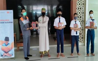Fasilitasi Anak Menjadi Generasi Qur'an, Rumah Zakat Wakafkan Al-Qur'an