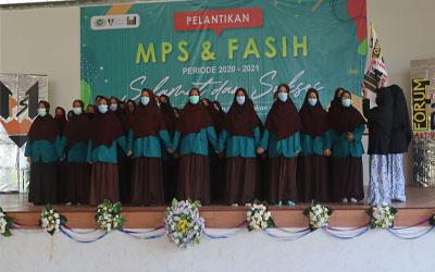 Selamat dan Sukses Atas Dilantiknya MPS dan FASIH Putri Periode 2020-2021